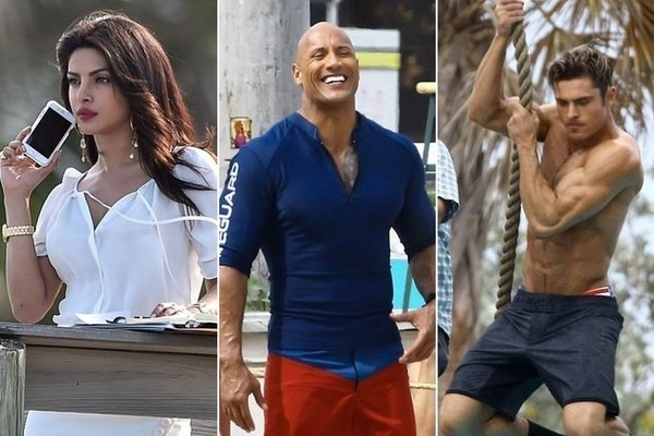 the new baywatch is heating up with stars zac efron dwayne the
