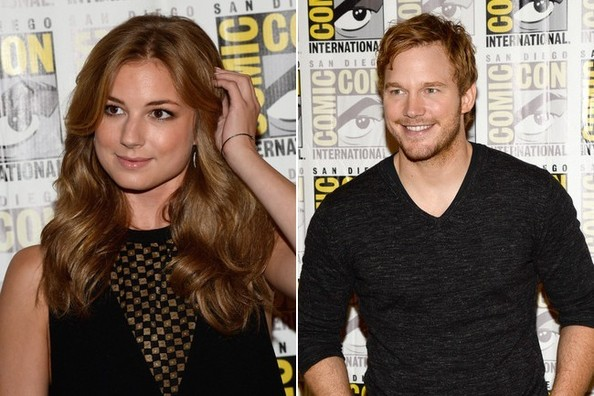 Emily Vancamp Chris Pratt Emily VanCamp  amp Chris Pratt