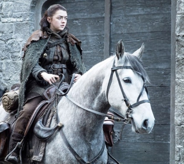 Maisie Williams as Arya Stark. (HBO)
