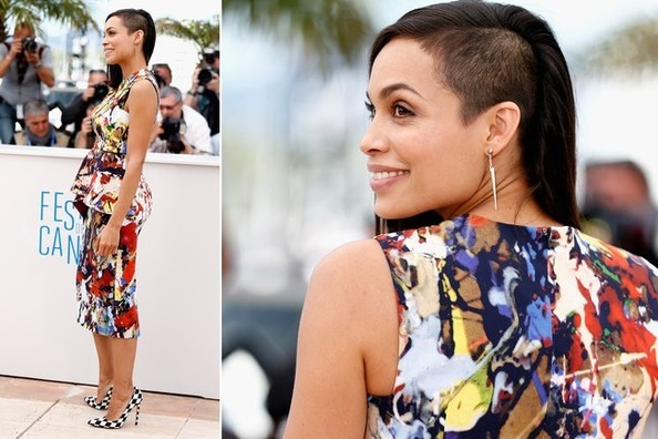 Rosario Dawson Goes Graphic In Cannes