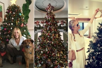 See 2015's Gorgeous Celebrity Christmas Trees