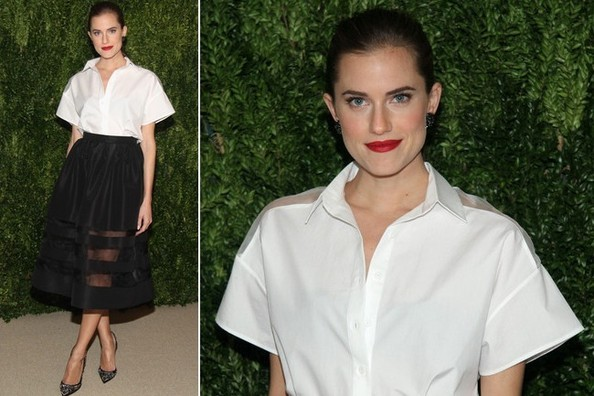 Red Carpet Regular Allison Williams Shows Us How to Do Sheer Paneling Right
