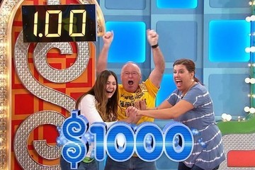 All Three 'The Price Is Right' Contestants Spin $1 and Lose Their Minds