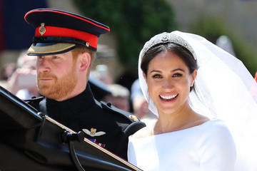 Prince Harry And Meghan Markle Are Married!