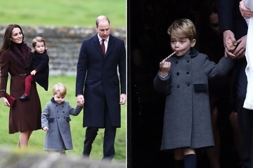 Prince George and Princess Charlotte's Outfits Slayed Christmas Day