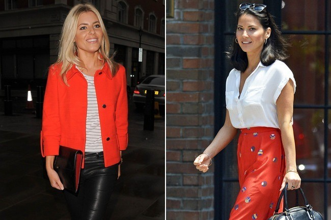 Try Mollie King and Olivia Munn's Day-to-Night Color Combo
