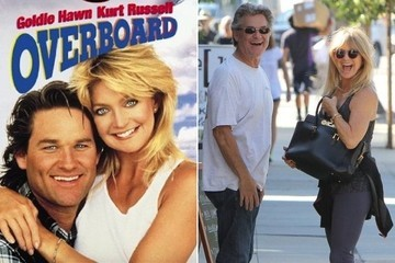 28 Years Later, 'Overboard's' Goldie Hawn and Kurt Russell Still Define #RelationshipGoals