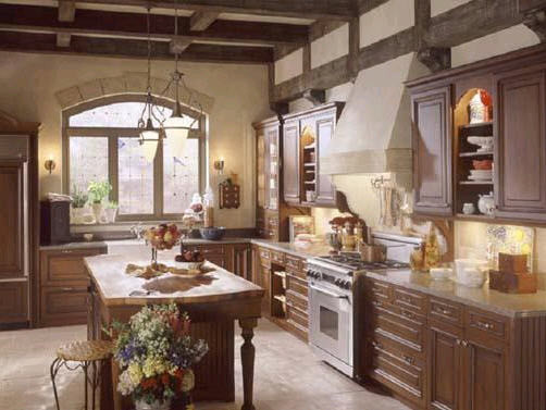 Warm And Rustic Charming Cottage Style Kitchens Zimbio