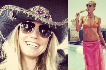 Heidi Klum's Best Selfies
