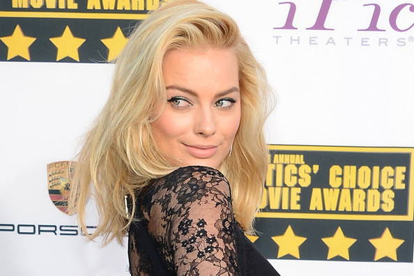 Margot Robbie's Lace Jumpsuit