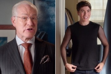 Exclusive Sneak Peek: Tim Gunn Hilariously Insults Kenny's Outfit on ABC's 'The Real O'Neals'