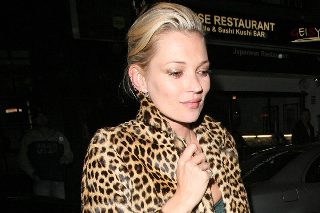 Wild Style: Kate Moss' Signature Print