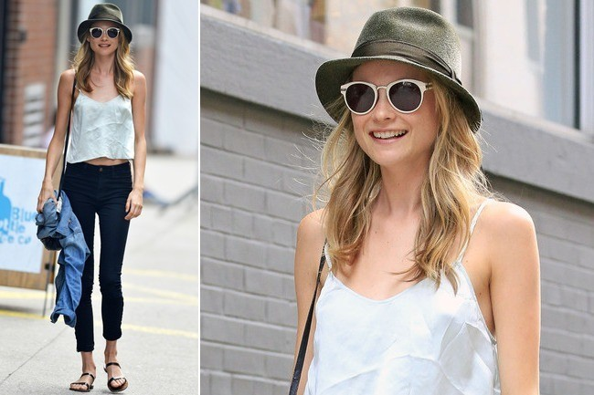 Easy Outfit Idea: Behati Prinsloo's NYC Street Style