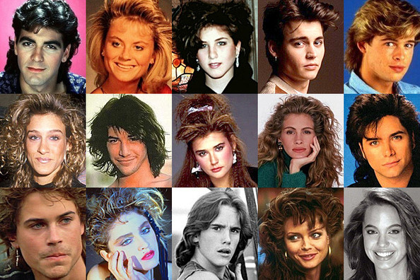 Awe-Inspiring Celebrity Hairstyles from the '80s