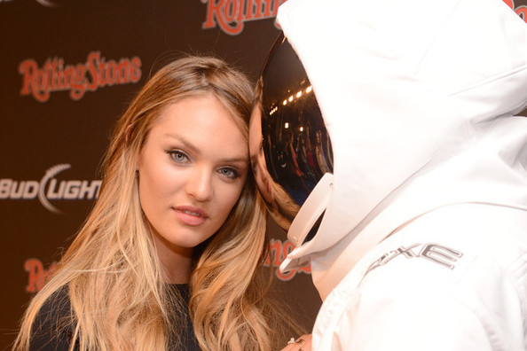 Victoria's Secret Angel Candice Swanepoel Caught Canoodling With Astronaut—TWICE!