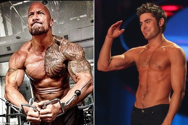 The Rock and Zac Efron Are Teaming Up for the 'Baywatch' Movie
