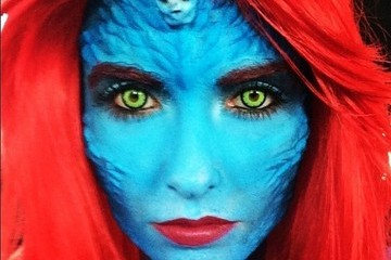 You'll Never Guess Which Former Reality Star Went All-Out as Mystique at Comic-Con