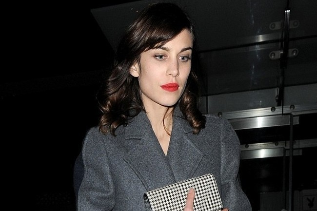 Leave it to Alexa Chung to Make Menswear Mod