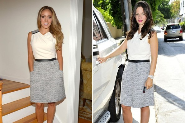Who Wore It Better: Melissa Gorga or Tammin Sursok?