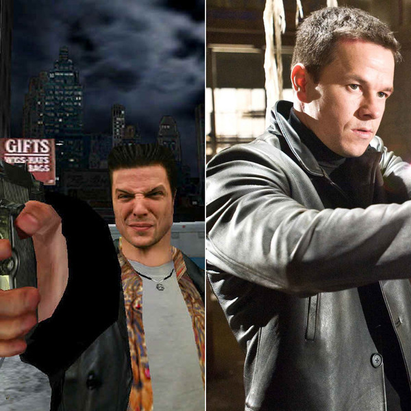 Mark Wahlberg In Max Payne Video Game Characters And The