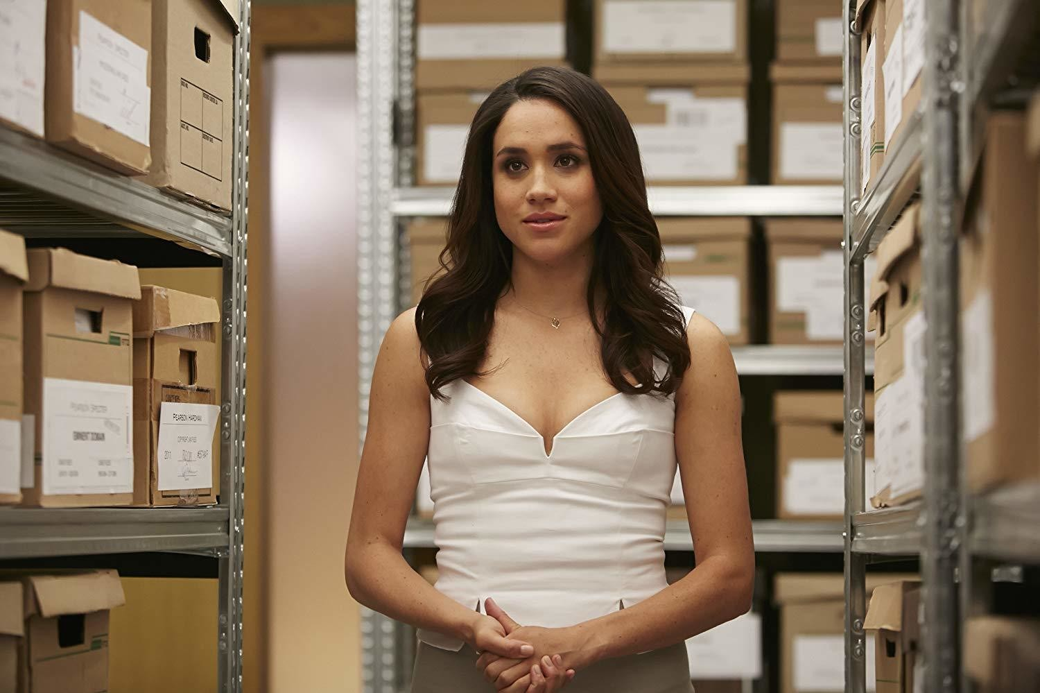 meghan markle might appear in suits season 9 tv news zimbio meghan markle might appear in suits