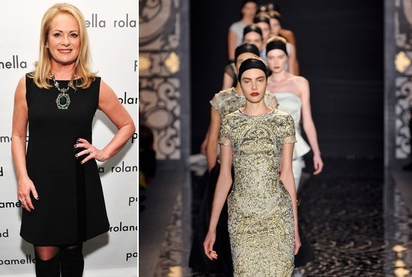 Designer Interview: Pamella Roland Talks Russia and Angelina Jolie