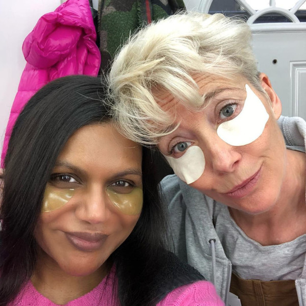 Celebrities You Didn T Know Were Friends: Mindy Kaling And Emma Thompson