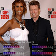 David Bowie & Iman - 100 Hottest Celebrity Couples of 2010