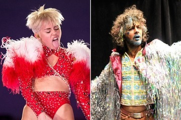 Miley Cyrus Hangs Out in the Studio With Wayne Coyne, But Who Knows If They Got Anything Done