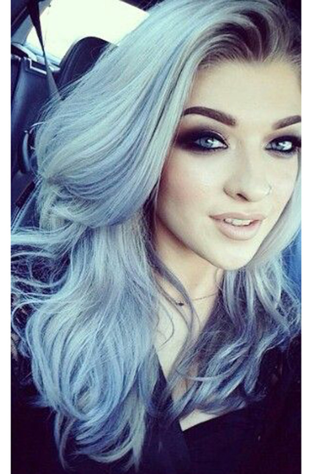 Grey Hair Looks And An Easy Tutorial That Will Have You Dying Your