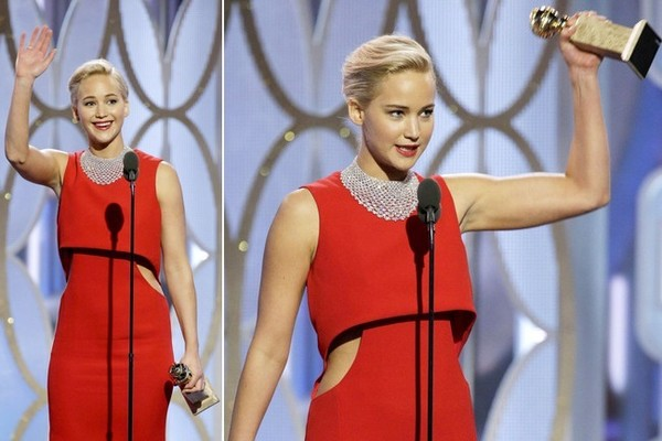 Jennifer Lawrence criticised for scolding reporter
