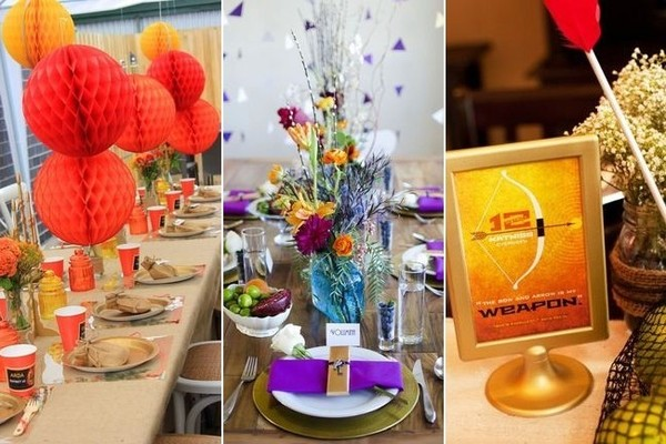 How To Throw A Hunger Games Party Beyond The Box Office Zimbio