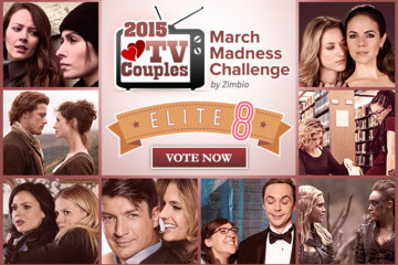 2015 TV Couples March Madness Challenge: Vote in the Elite 8!