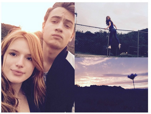 Bella Thorne brandon lee