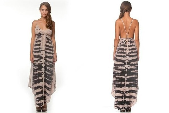 Found: Ashley Tisdale's Tie-Dye Maxi Dress
