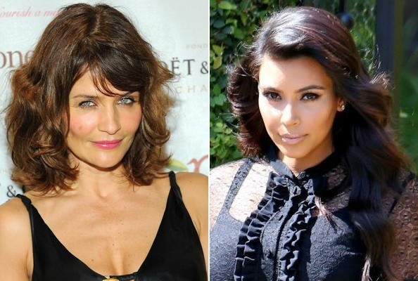 OG Supermodel Helena Christensen Defends Kim Kardashian. Truth.