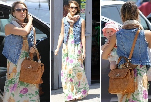 qt8Mw48w1SHl Look of the Day: Jessica Albas 90s Spring Style
