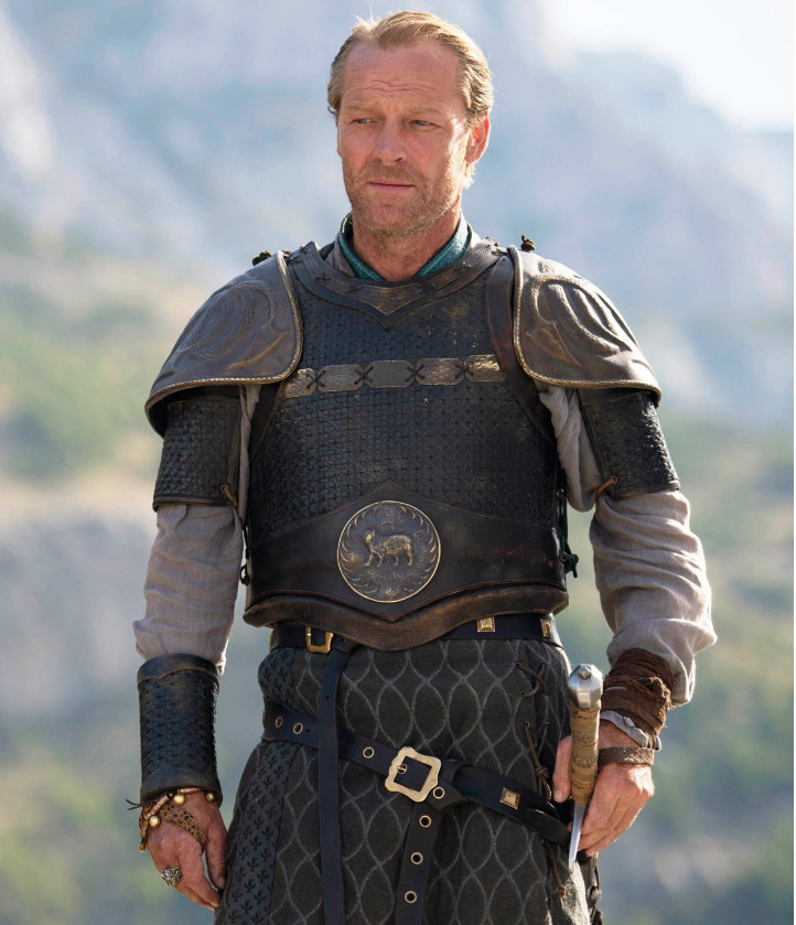 jorah mormont the many differences between game of