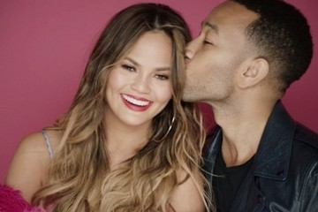 Chrissy Teigen and John Legend Star in a Steamy Valentine's Day Video Because They're Just Ordinary People