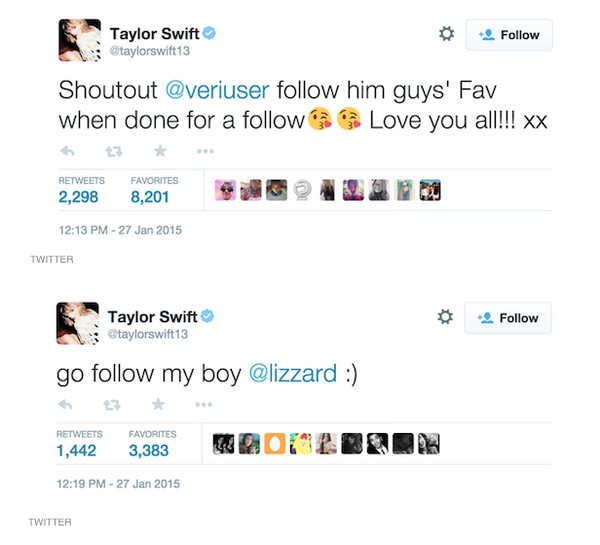 The Hacked: Taylor Swift