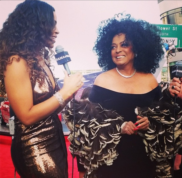 Jordin Sparks was starstruck by Diana Ross  - Behind the