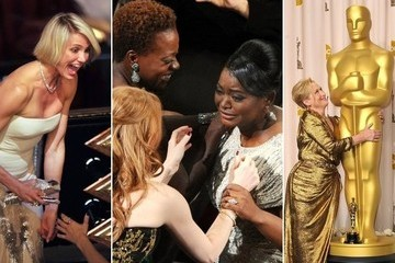 Best Backstage and Audience Photos from the 2012 Oscars