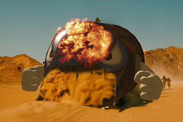 Watch What Happens When Mario Kart and 'Mad Max' Collide