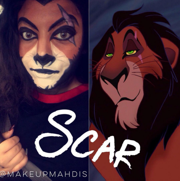 Wonderful Alternative Disney Costume Ideas · Scar From U0027The Lion Kingu0027 Sc 1  St Zimbio