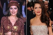 Then and Now - Salma Hayek