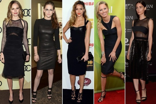 Who Wore the Edgiest Little Black Dress?