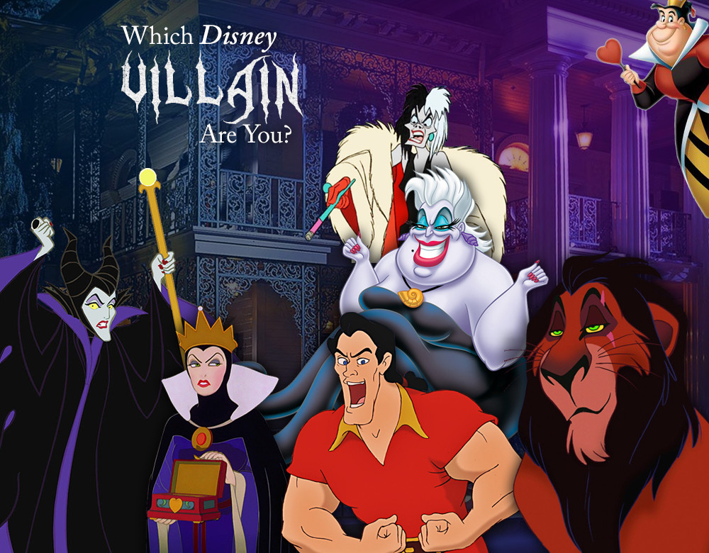 which disney villain are you quiz zimbio