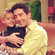 Why does Ross never spend any time with Ben? ('Friends')