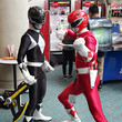 The Black Ranger and the Red Ranger