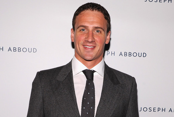 Ryan Lochte Watch: Olympic Swimmer Guy Spotted at Joseph Abboud Fashion Show